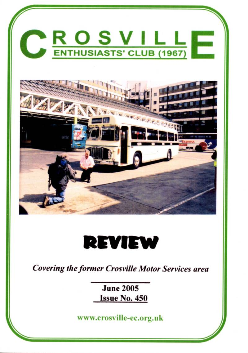 Crosville Review magazine number 450