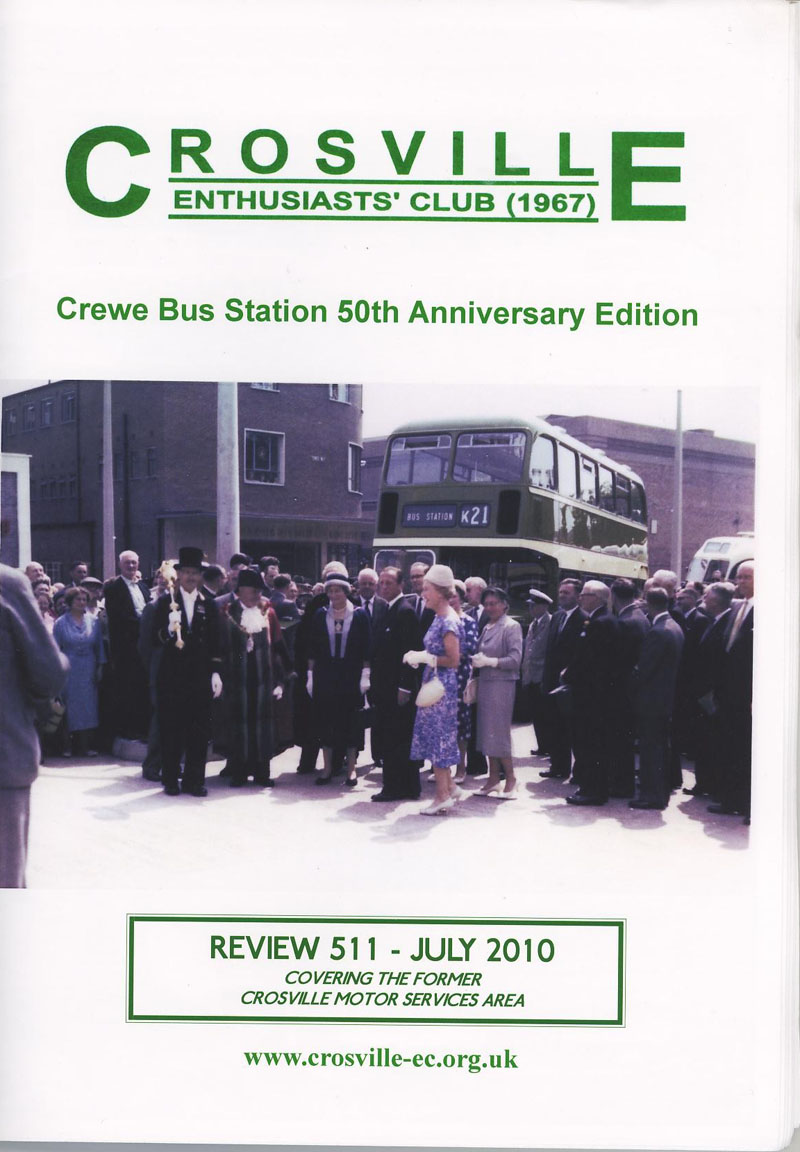 Crosville Review magazine number 511