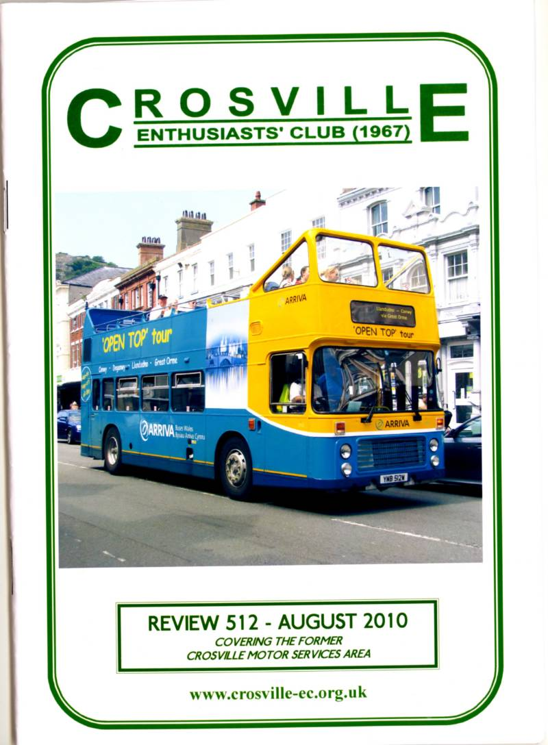 Crosville Review magazine number 512