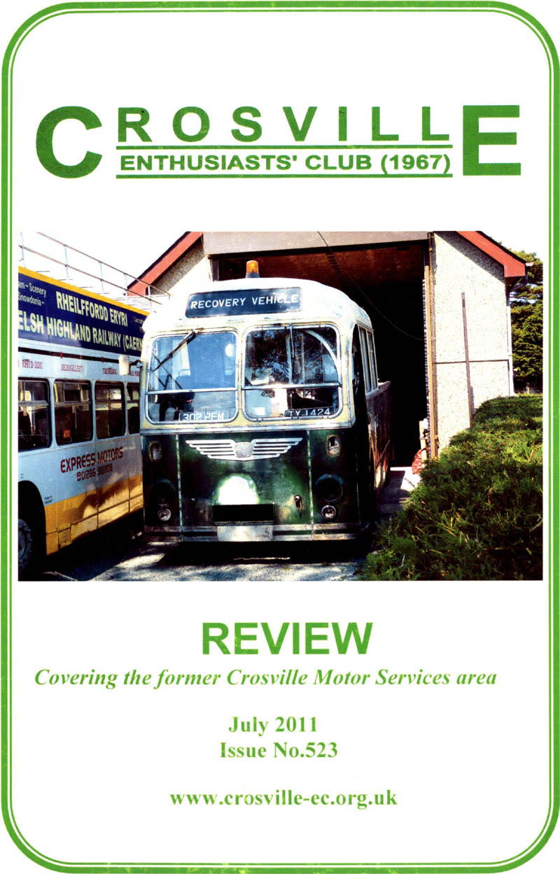 Crosville Review magazine number 523