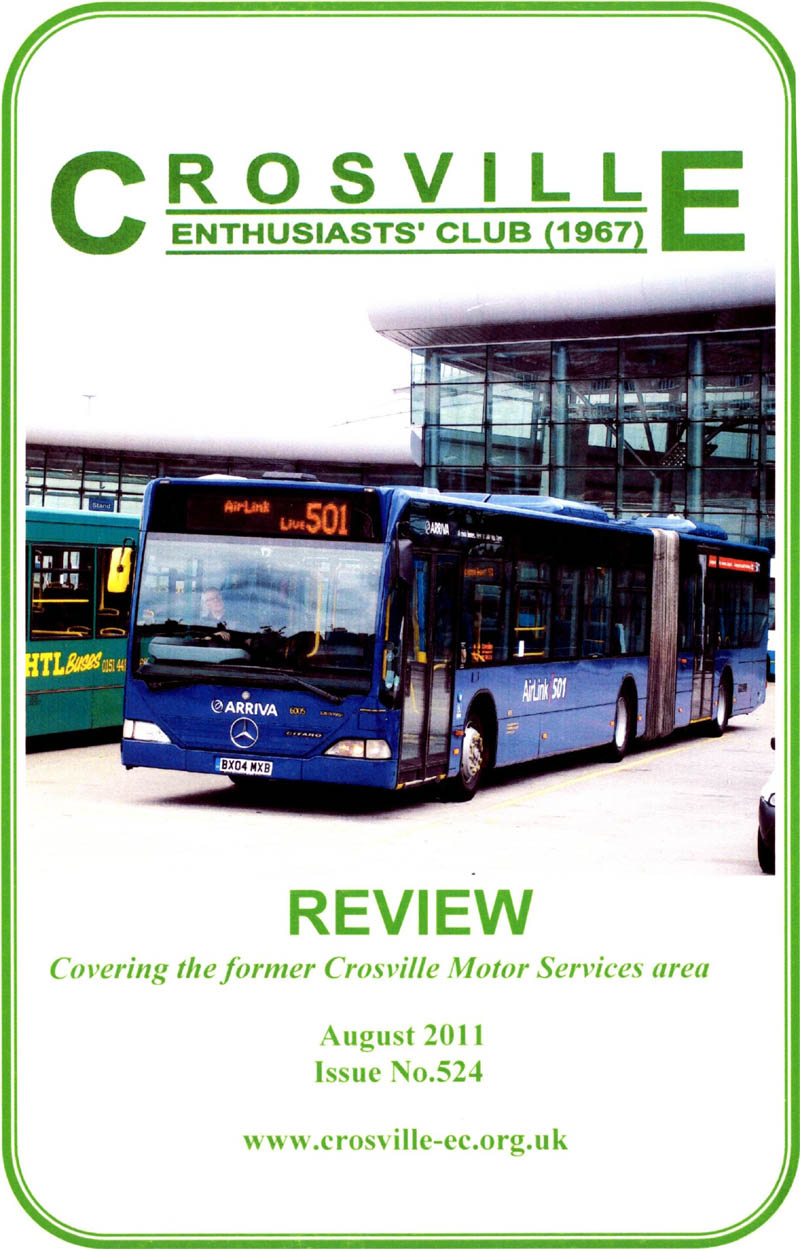 Crosville Review magazine number 524