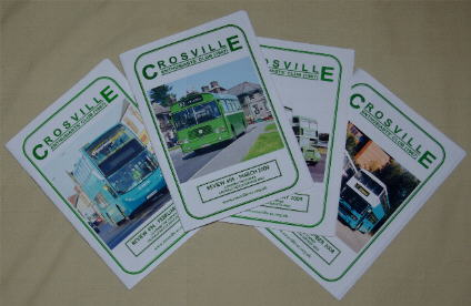 Picture of recent Crosville Review covers